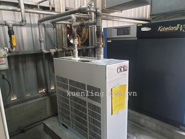 Máy sấy khí Orion được sử dụng cùng với hầu hết các thương hiệu máy nén khí lớn như Fusheng, Kobelco, Hitachi...
