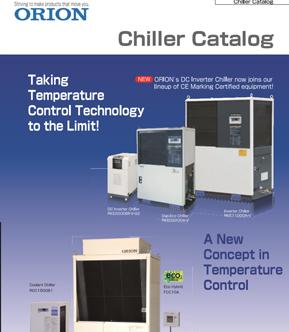 catalogue máy làm lạnh nước orion