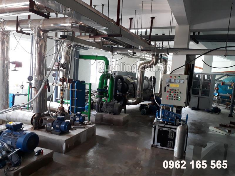 Hệ thống máy làm lạnh nước công nghiệp